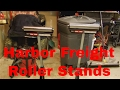 Harbor Freight Roller Stand 68898