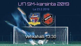 U17 SM-k: JJK - FC Reipas  4 - 0  1. puoliaika