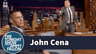 Jimmy Fallon Hurt John Cena