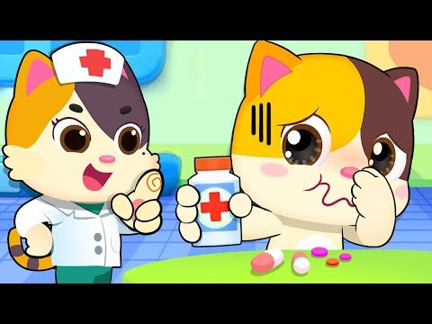Take Medicine When You are Sick | Sick Song | Nursery Rhymes | Kids Songs | Baby Cartoon | BabyBus