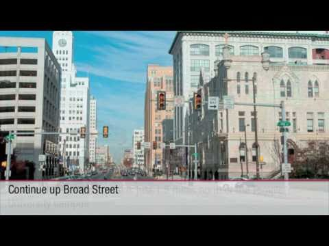 Temple University Hospital - Virtual Drive from Center City