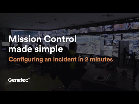Who said Mission Control was complex? Configuring an Incident in less than 2 minutes