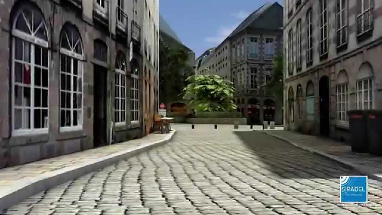 siradel - realistic 3d city modeling - youtube