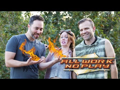 All Work No Play: Fire Spinning