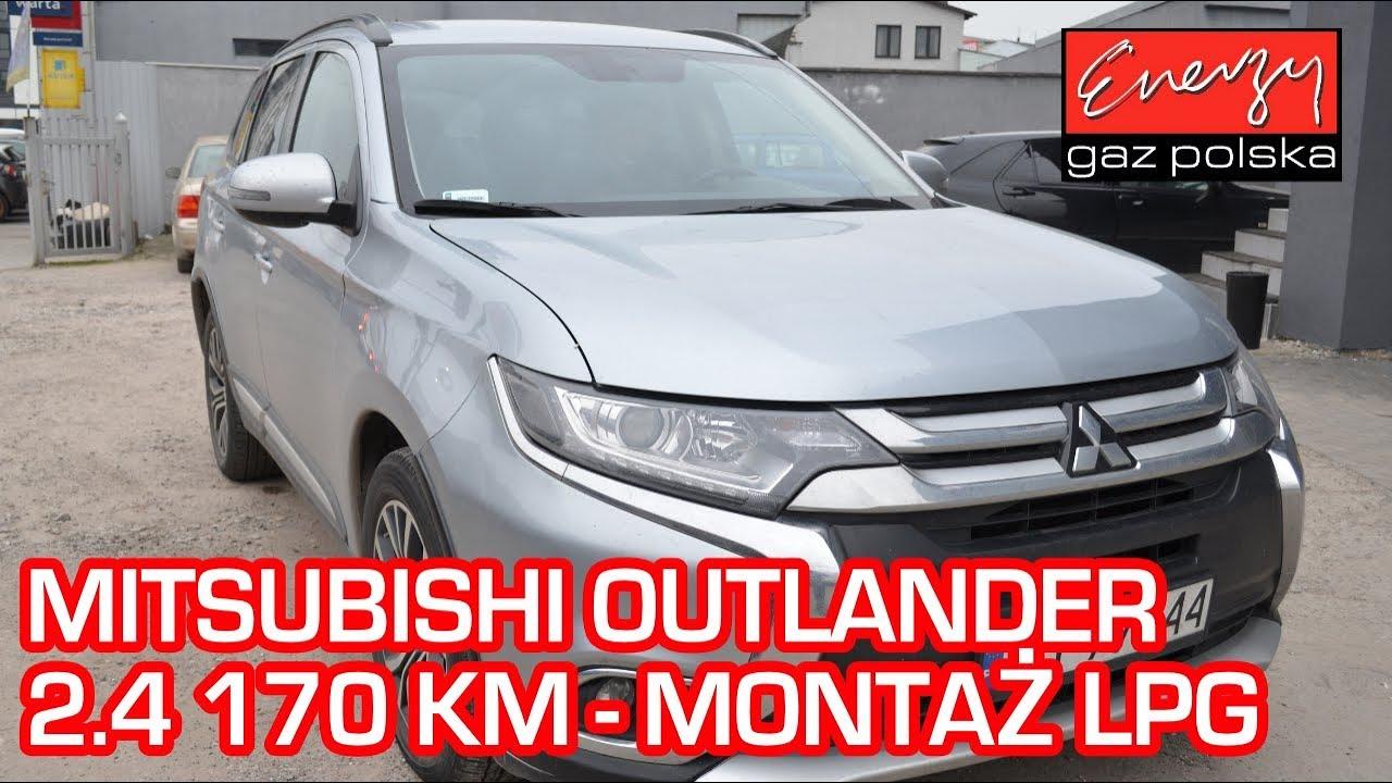 Montaż LPG Mitshubishi Outlander 2.4 170 KM 2015 rok w Energy Gaz Polska na auto gaz BRC SQ 32!