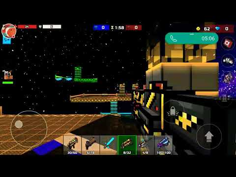 Playing With My Friend In Pixel Gun 3d,duel,clan Siege