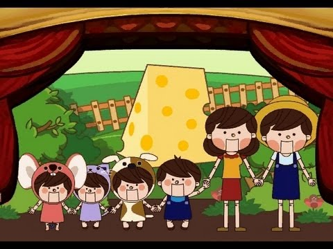 The Farmer In The Dell | Family Sing Along - Muffin Songs