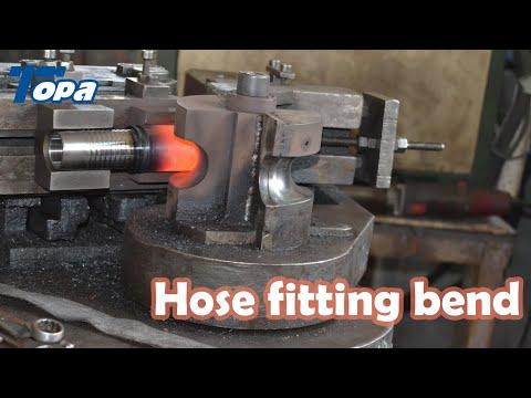 Hydraulic fitting Bending