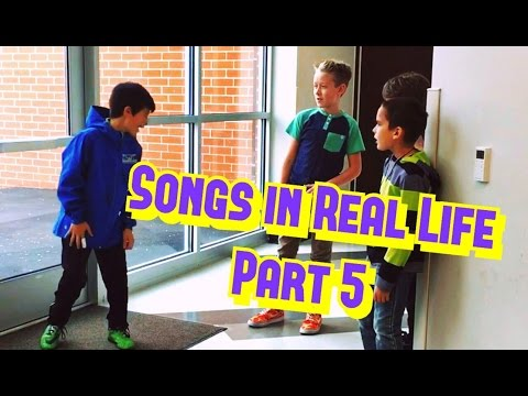 Thumbnail: Songs in Real Life Part 5 🗣⚽️🎤🤗