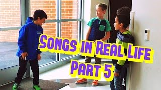 Songs in Real Life Part 5 🗣⚽️🎤🤗