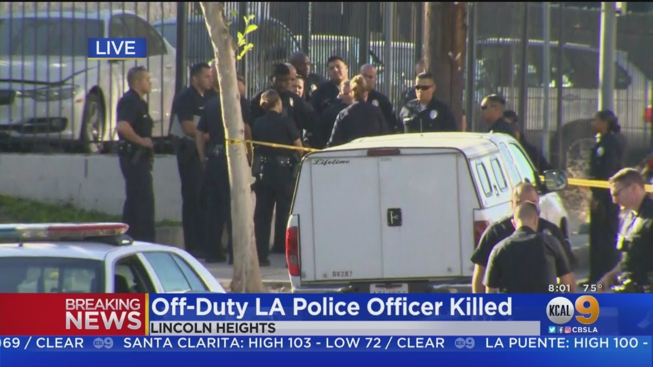 Police Search For Suspect Who Fatally Shot Off-Duty Officer In Lincoln Heights, 1 Other Injured