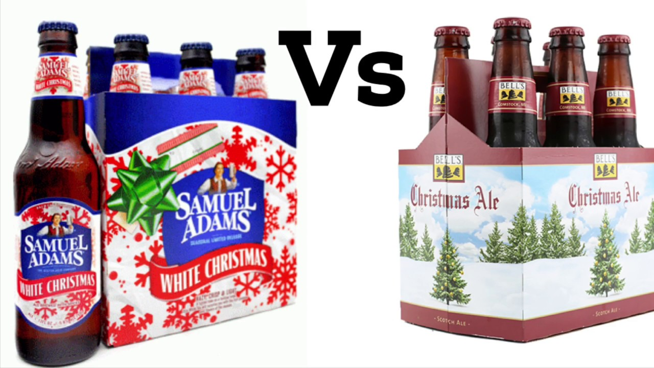 Bells Christmas Ale.Christmas Beer Comparison Sam Adams White Christmas Bell S Christmas Ale Beer Review