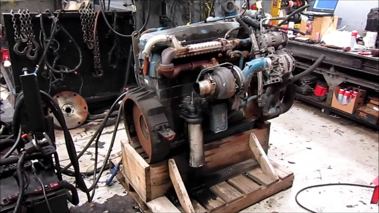 2005 International Dt466e Egr Diesel Engine Running