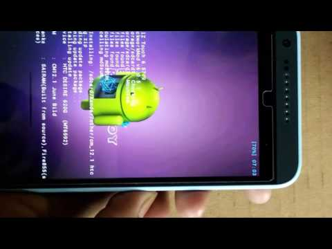 How to update lollipop 5.1.1 in htc desire 620 by the help of CM 12