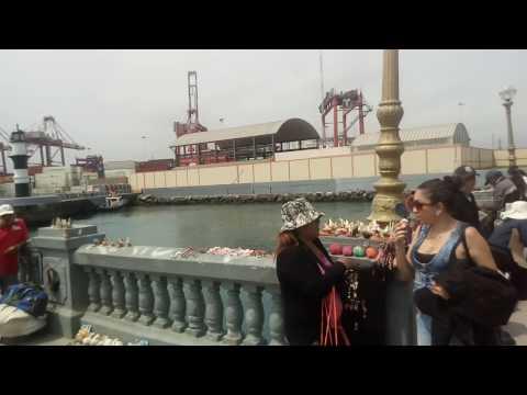 Visita al puerto del Callao, Lima - Perú