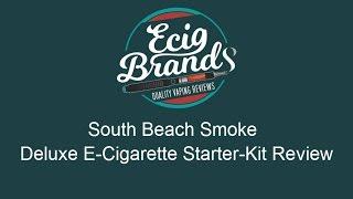 South Beach Smoke Deluxe E-Cigarette Starter-Kit Review