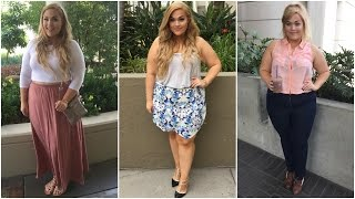The Curvy Diaries: LA Summer Lookbook   Plus-Size