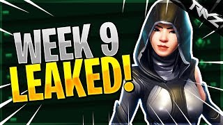 ALL WEEK 9 CHALLENGES LEAKED... (Fortnite Battle Royale)