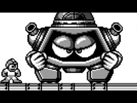 Mega Man III (Game Boy) All Bosses (No Damage)