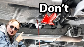 Here's Why Changing Your Transmission Fluid Will Destroy the Transmission