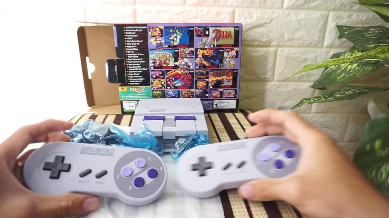 [ Unboxing ] Trên tay Nintendo Snes mini – Super Nintendo classic mini – herogame .vn