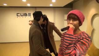 BTOB covers B2ST Beautiful Night