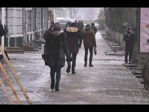 mistotvpoltava: У Полтаві – дощ і ожеледиця
