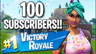 100 Subscribers!! - My Skin Collection (Fortnite: Battle Royale