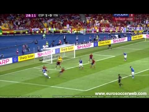 Cassano great chance against Spain