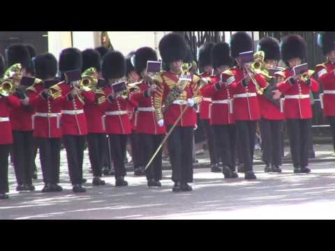 Band of the Irish Guards, Changing the Guard, Coldstream Guards, July 7, 2016 - extended version
