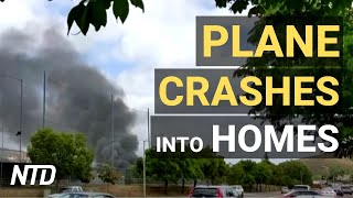 Plane Crashes into California homes, at least 2 killed; Nation's Largest Columbus Day Parade in NYC