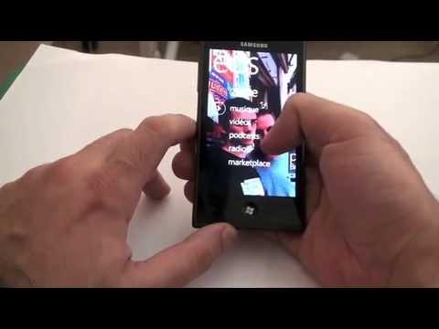 Samsung GT-i8700 - Windows Phone 7