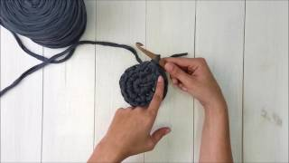 Bobbiny - Magiczne kółko z półsłupków / How to crochet: Magic Ring with Single Crochet