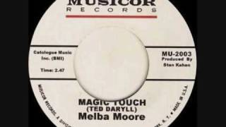 Melba Moore .   Magic Touch