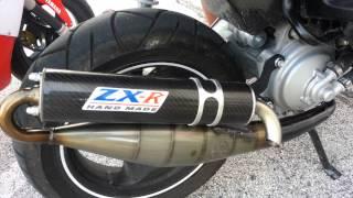 Giannelli reverse VS Leo Vince Zx-R sound test aerox