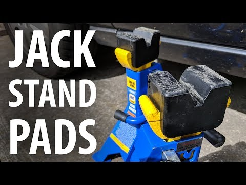 Review: Jack stand rubber pads