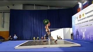 Игорь Шаклеин толчок 196 кг, в в.к.  до 105 кг