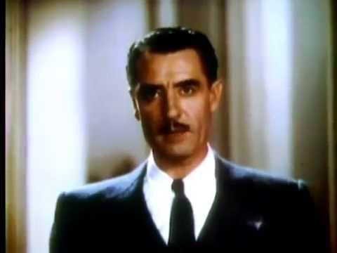 John Gilbert's Color Screen Test from 1935