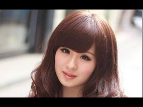 Cute Korean Hairstyles For Round Faces Youtube