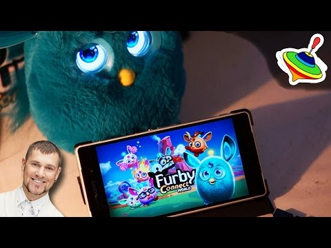 Обзор Приложения Ферби Коннект ( Furby Connect World App)