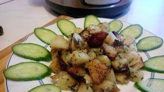 Жареная картошка в мультиварке.|жареная картошка с мясом в мультиварке поларис