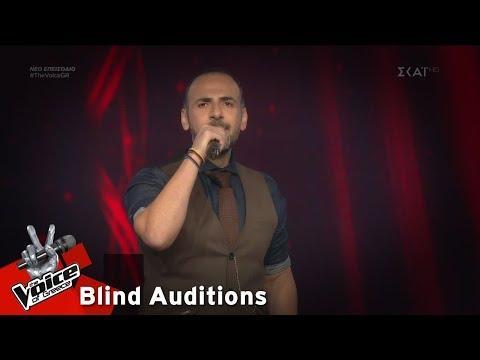 Αβραάμ Ιντζεβίδης – Αυγερινός | 6o Blind Audition | The Voice of Greece