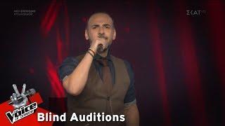 Αβραάμ Ιντζεβίδης - Αυγερινός | 6o Blind Audition | The Voice of Greece
