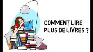Comment lire plus de livres régulièrement