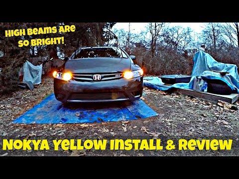 Nokya Hyper Yellow 2500k