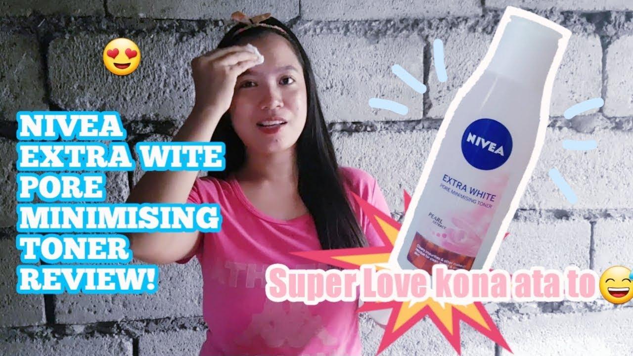 Nivea Extra White Pore Minimising Toner Maganda Kaya Effective