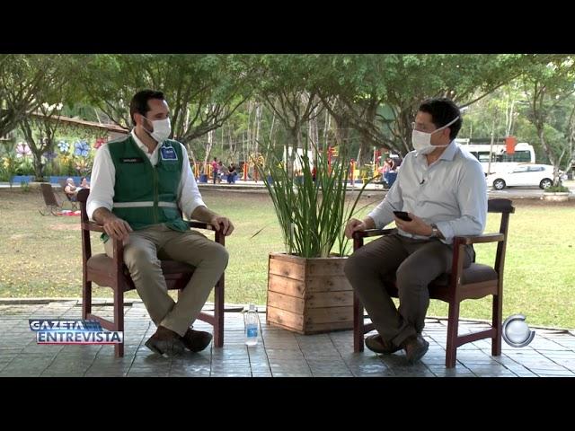 1° Bloco: Gazeta Entrevista com Eduardo Cavaliere coordenador nacional