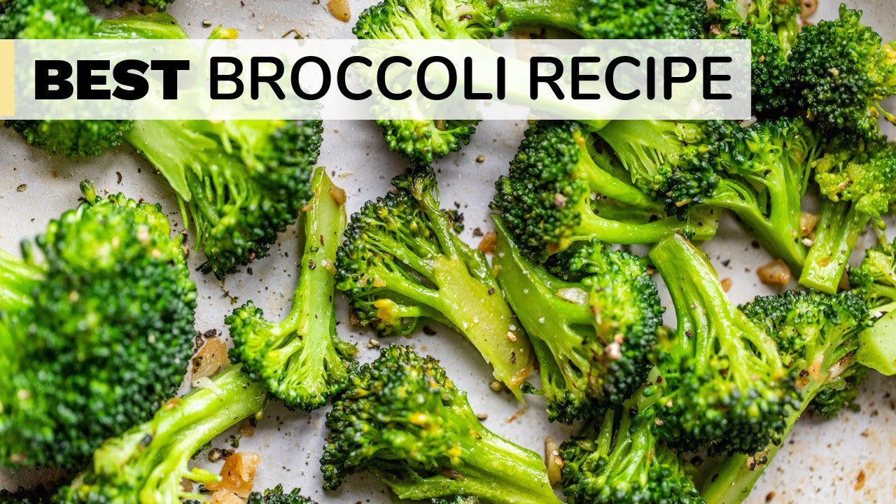 HOW TO COOK BROCCOLI | BEST sautéed broccoli recipe