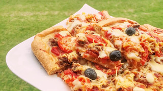 Готовим у Каси / Домашняя пицца/ рецепт вкусной пиццы