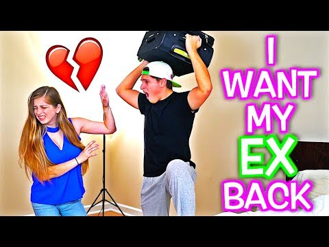 I WANT MY EX BACK PRANK ON BOYFRIEND! *HE FREAKED*